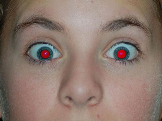 Efek Mata Merah Saat Foto 2