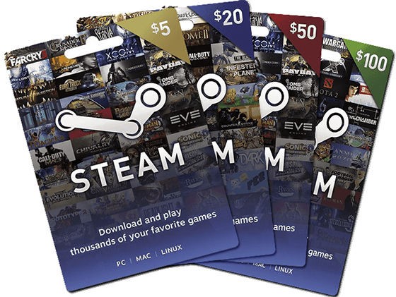 Steam GIft Cards E8a7b