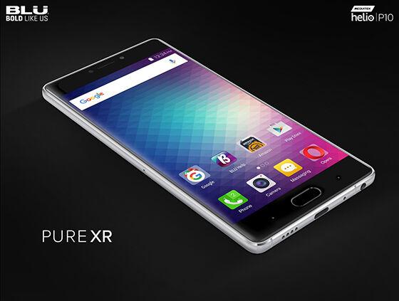 Smartphone Android Terbaru Blu Pure Xr
