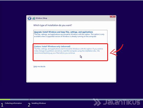 Cara Install Windows 10 Dengan Flashdisk Di Laptop ASUS E3150