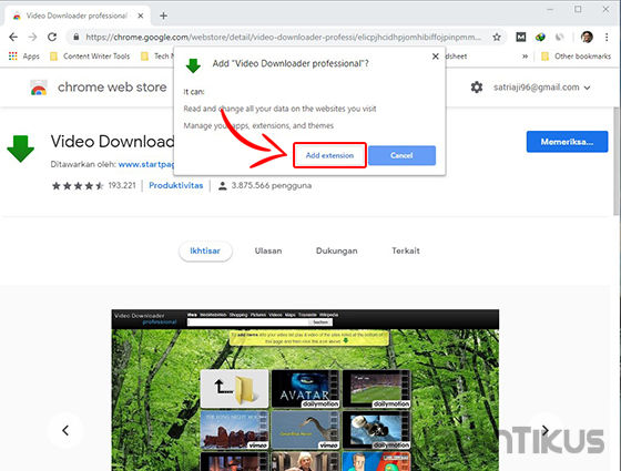 Cara Download Youtube Chrome 02 Bcd3b