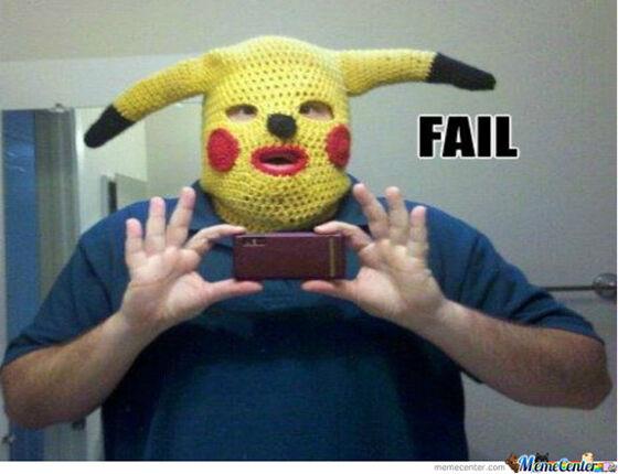 Pikachu Jijik 1
