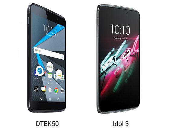 Blackberry DTEK50 Adalah Alcatel Idol 4