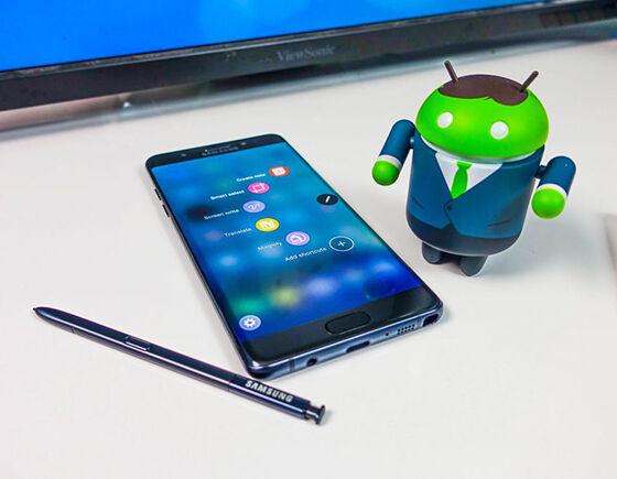 Penjualan Samsung Galaxy Note 7 Tinggi 1