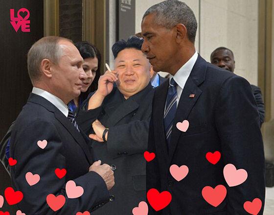 Foto Kocak Obama 7