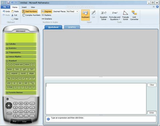 Aplikasi Matematika Microsoft Mathematics 73874