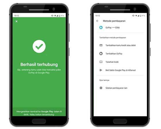 Cara Menambahkan Gopay Google Play 03 9db3c
