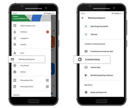 Cara Menambahkan Gopay Google Play 01 C83f2