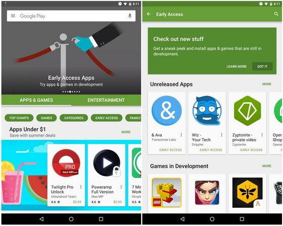 Trik Mencoba Aplikasi Smartphone Early Access 1