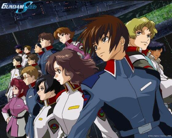 Urutan Gundam Gundam Seed 9e475