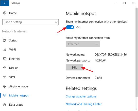 Menjadikan Laptop Menjadi Hotspot Wifi Di Windows 10 3