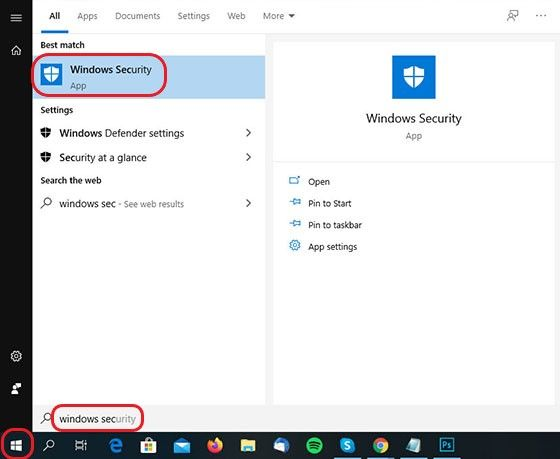 Cara Mematikan Windows Defender 2020 57846