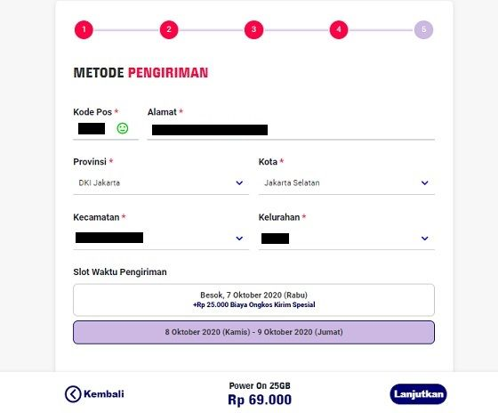 Paket Internet Live On Xl 8 Ad841