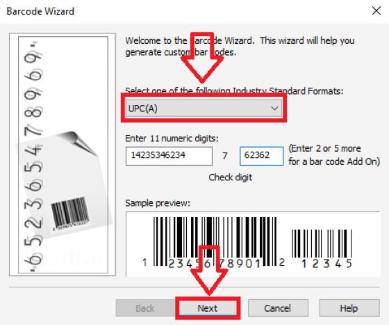 Cara Membuat Barcode12 Custom 4d496