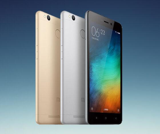 smartphone android body metal xiaomi redmi 3 prime