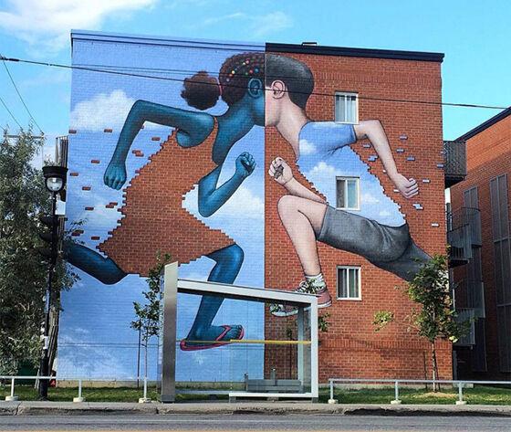 Karya Seni Jalanan Wow 11
