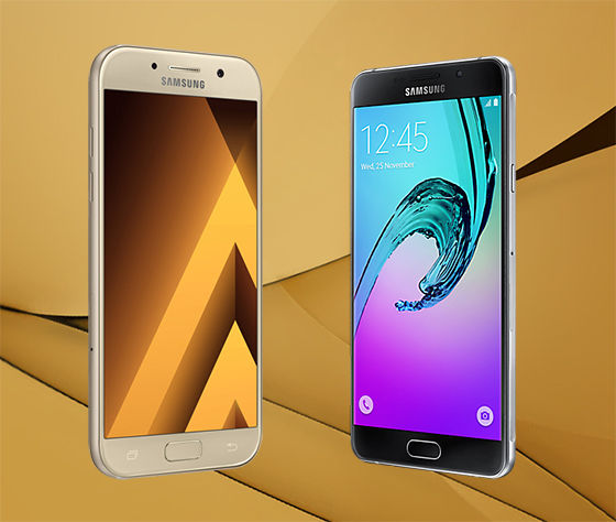 Samsung Galaxy A7 2016 Vs Samsung Galaxy A7 2017