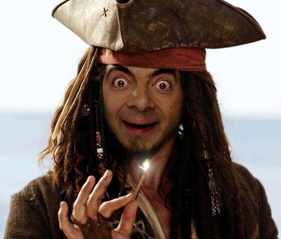 Mr Bean Korban Master Photoshop 7