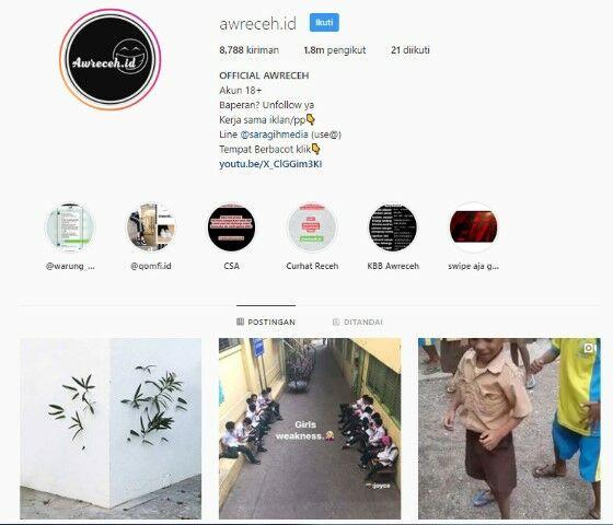 Akun Instagram Lucu Kocak 5 718f7