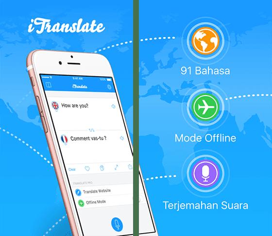 Aplikasi Penerjemah Itranslate