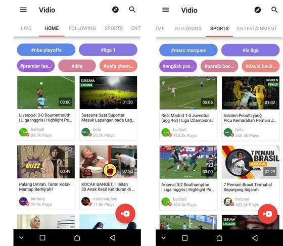 Aplikasi Live Streaming Bola Terbaik Vidio 4f4cd