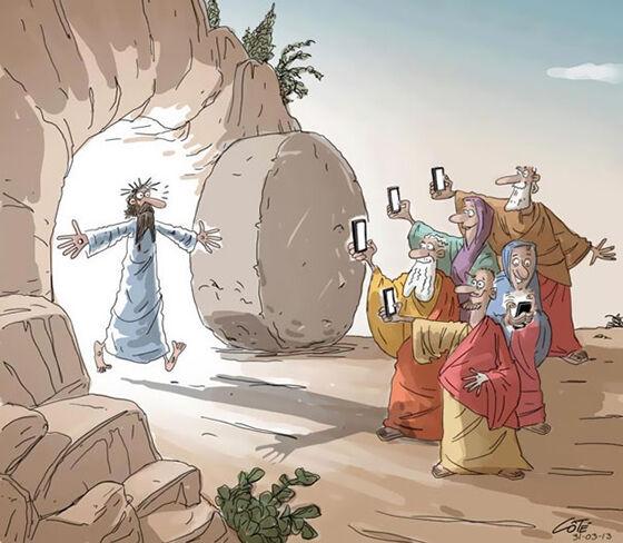 Ilustrasi Menyedihkan Dampak Smartphone 17