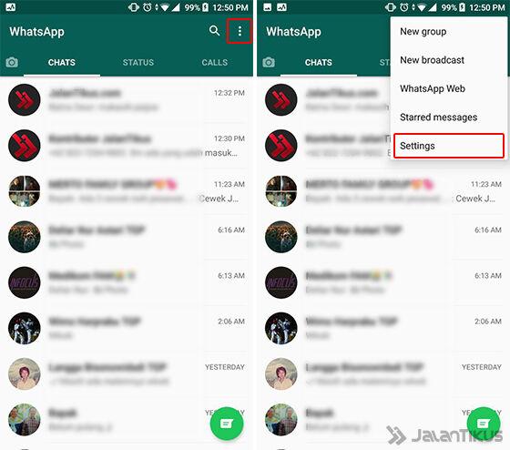 Cara Mengetahui via Menu Email Chat Langkah 1