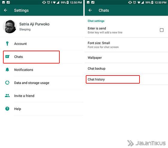 Cara Mengetahui Siapa Sering Dihubungi Whatsapp A 2 6c503