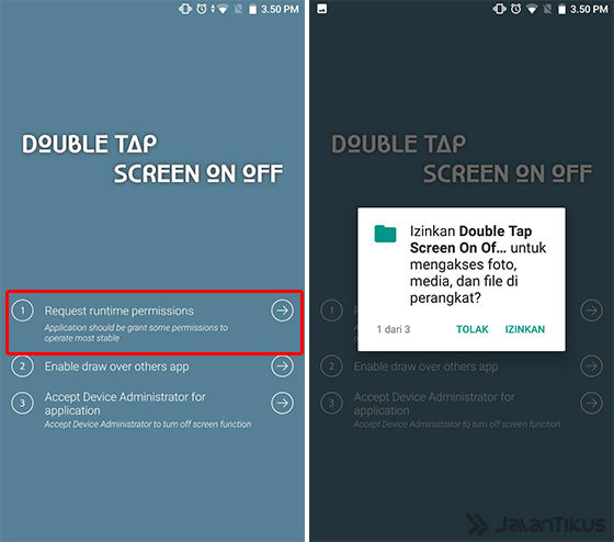 Cara Pakai Fitur Double Tap To Wake Android 2 4baad
