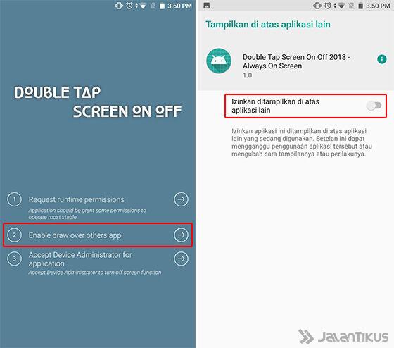 Cara Pakai Fitur Double Tap To Wake Android 3 Fa46b