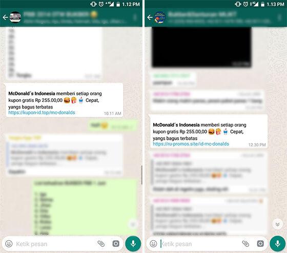 Alasan Jangan Sebar Promo Mcdonald Whatsapp 1 99825