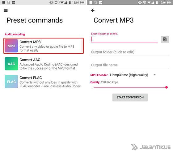 Cara Convert Video Ke Mp3 Android 3 E58d1