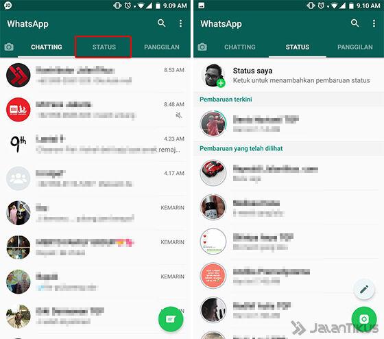 Kumpulan Kata Kata Lucu Cara Simpan Status Whatsapp Teman