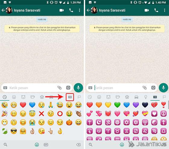 Cara Membuat Emoji Hati Whatsapp Bergerak 02 794af