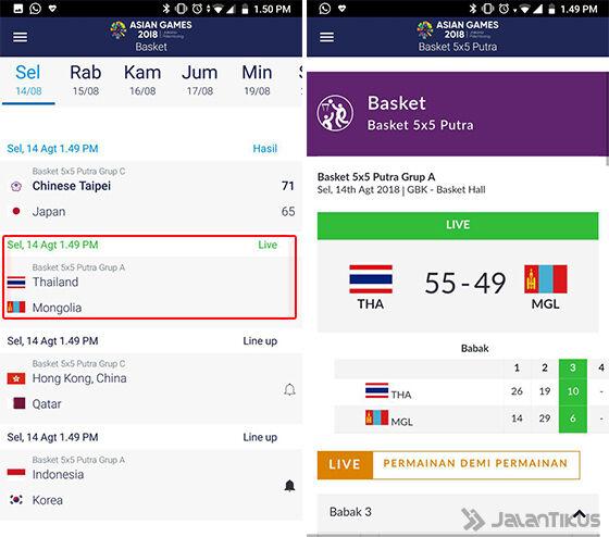Cara Mengecek Jadwal Pertandingan Asian Games 2018 Aplikasi 05 0ebf7