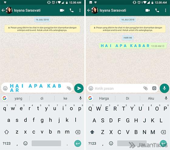 Cara Membuat Tulisan Unik Di Whatsapp Berwarna 5b317
