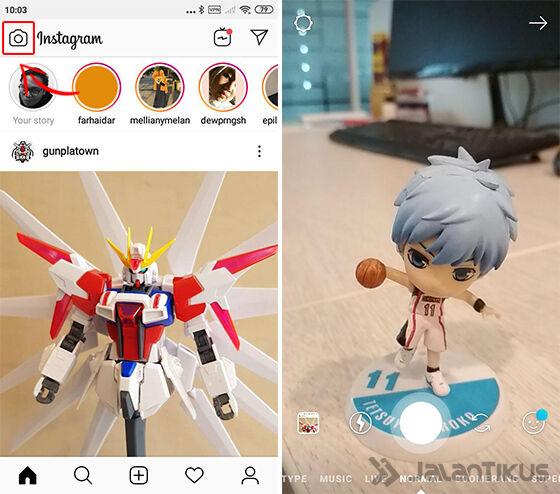 cara menambahkan musik instagram stories 03