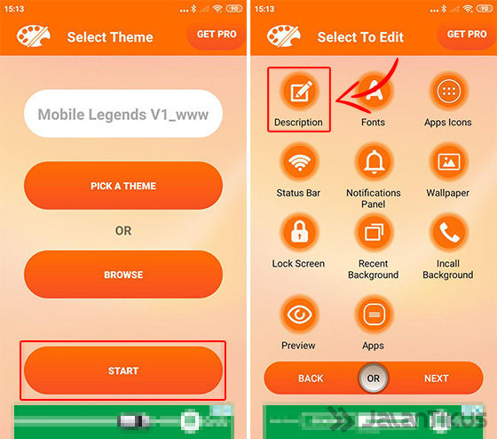 Install Tema Mobile Legends Xiaomi 02 52d30