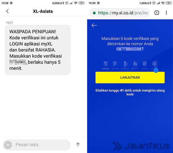 Cara Cek Kuota Xl Lewat Website 58d1a
