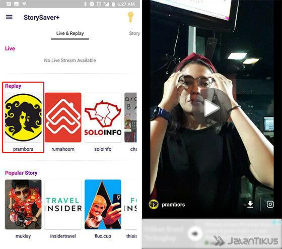Cara Download Live Ig Orang Lain Dan Sendiri 5a5e2
