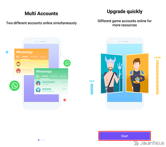 Cara Main 2 Akun Mobile Legends 1