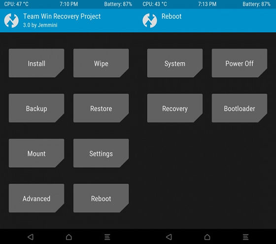 Reboot System Twrp 3 Redmi Note 3
