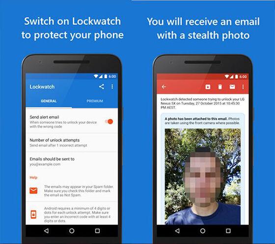 Aplikasi Keamanan Foto Maling 4
