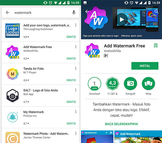 Cara Mudah Membuat Watermark Gambar dan Foto di Android ...