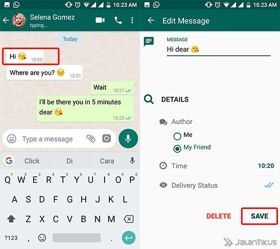 Cara Membuat Chat Whatsapp Palsu 7
