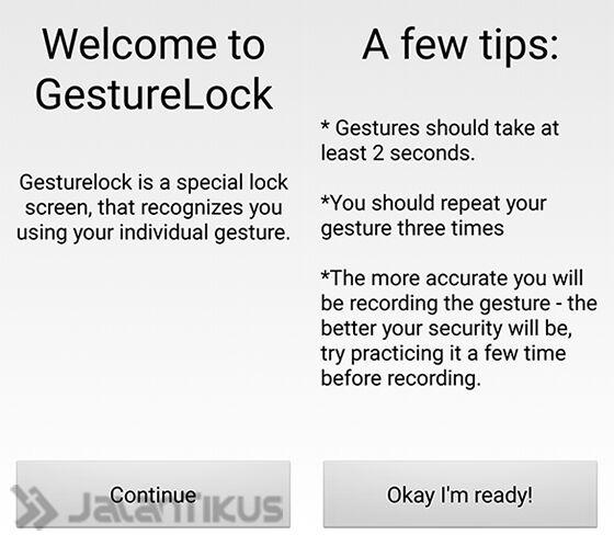 Install Gesturelock Gesture Lockscreen