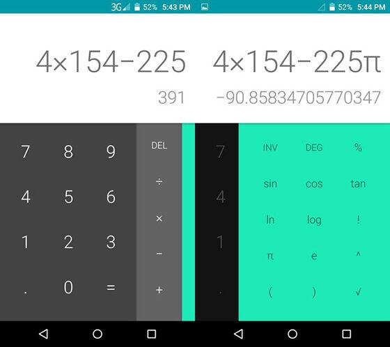 Aplikasi Kalkulator Android 3
