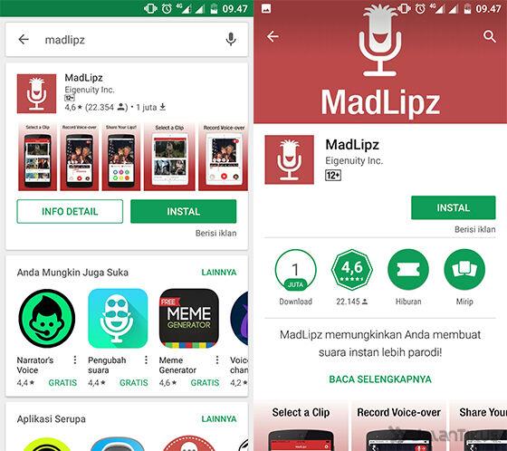 Langkah 01 Cara Menggunakan Madlipz Indonesia
