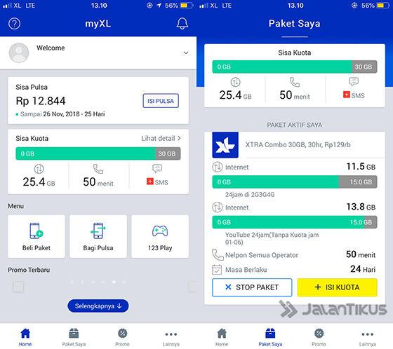 Cara Cek Kuota Internet Xl 2018 Terbaru Lengkap Jalantikus Com