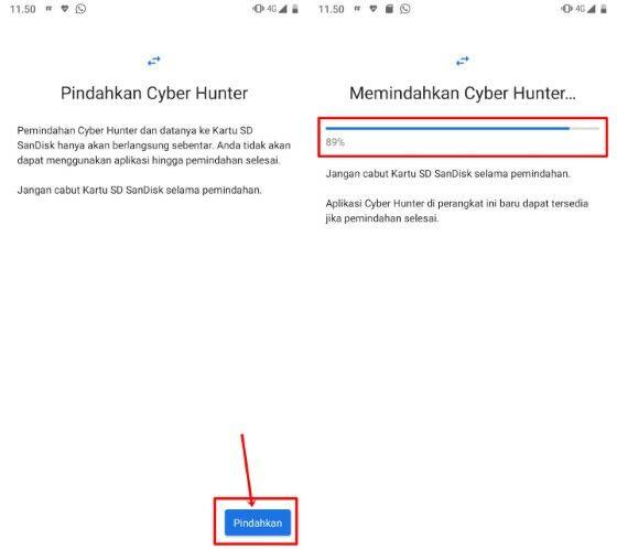 Cara Memindahkan Aplikasi ke Kartu SD di hp xiaomi